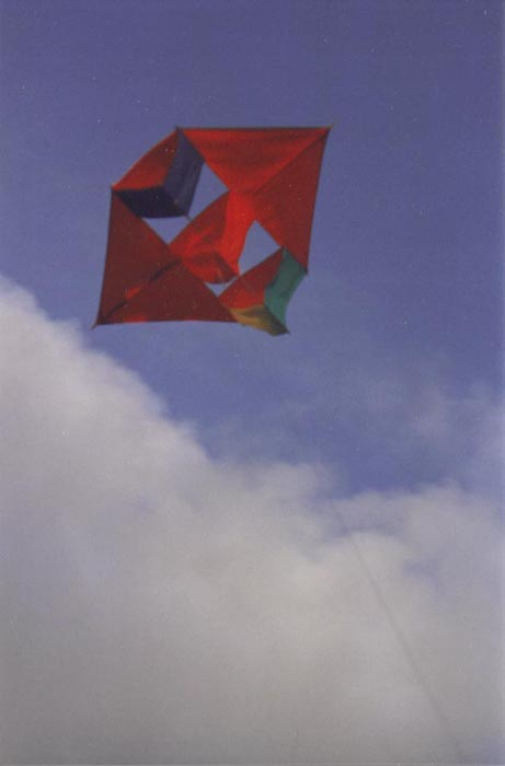 French Rescue Kite
